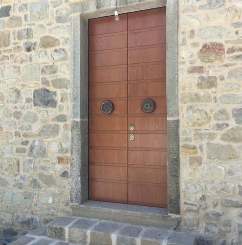 01 Vignali Simone Infissi-Style Porta blindata style legno