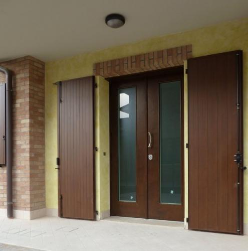 03 Vignali Simone Infissi-Style Porta blindata style legno