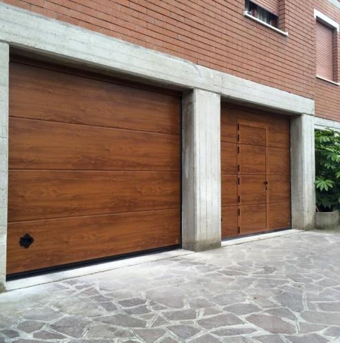 06 Vignali Simone Infissi-Style Portone per garage style legno