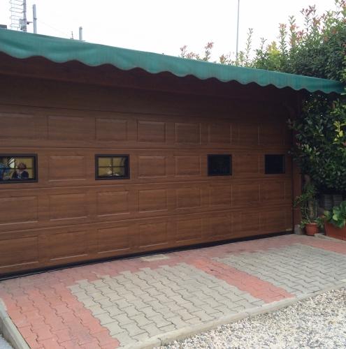 11 Vignali Simone Infissi-Style Portone per garage style legno